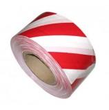 Лента оградительная ЛО-500 красно-белая