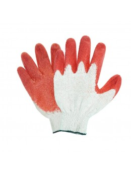 Перчатки ХБ латексный облив