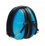 Наушники МАХ 600B/MAX 600Y, складные, комфортабельные, 26 дБ, синие