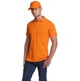 Рубашка-Поло, оранжевый