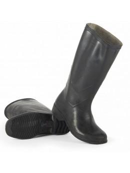 Сапоги формовые резиновые женские (1 сорт), черный