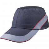 Каскетка DeltaPlus™ AIR COLTAAINOLG, черный/красный