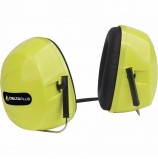 Наушники DeltaPlus™ SILVERSTOUNE 2 (30дБ) с горизонтальным оголовьем, флуоресцентно-желтые