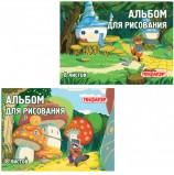 Альбом для рисования, А4, 8 листов, обложка офсет, ПИФАГОР, 200х285 мм, 'В лесу', 101896