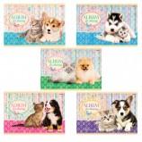 Альбом для рисования, А4, 40 листов, обложка картон, HATBER, 205х290 мм, 'Маленькие друзья', 40А4В, А75302