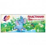 Пластилин классический ЛУЧ 'Zoo', 6 цветов, 81 г, картонная коробка, 19С 1271-08
