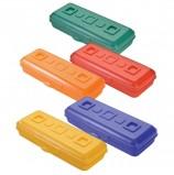 Пенал СТАММ 'Премиум', пластиковый, непрозрачный, цвет ассорти, ПН14