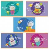 Альбом для рисования, А4, 8 л., обложка картон, HATBER 'Кот Басик', 8А4В, A269398