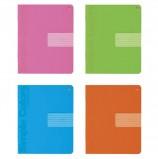 Тетрадь 12 л., АЛЬТ, клетка, понтонная краска, выборочный лак, 'ПРОСТЫЕ ЦВЕТА' (4 вида), 7-12-771/1