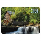 Календарь карманный 2020 г, 7х10 см, ламинированный, 'Пейзажи', HATBER, 326558, Кк7