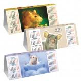 Календарь-домик 2020 г, с фигурной высечкой, 'Знак Года', HATBER, КД6