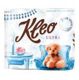 Бумага туалетная 3-х слойная KLEO Ultra, спайка (4 шт. х 20 м), C86