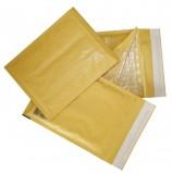 Конверт-пакеты с прослойкой из пузырчатой пленки (240х330 мм), крафт-бумага, отрывная полоса, КОМПЛЕКТ 10 шт., G/4-G.10