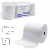 Полотенца бумажные рулонные KIMBERLY-CLARK Scott, КОМПЛЕКТ 6 шт., 304 м, белые, диспенсер 601536, 6667