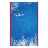 Блокнот А5, 48 л., скоба, выборочный лак, HATBER, 'Water' ('Вода'), 135х205 мм, 48Б5вмB3 03976, B023235