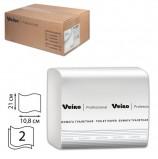 Бумага туалетная VEIRO (Система T3), КОМПЛЕКТ 30 шт., Comfort, листовая, 250 листов, 21х10,8 см, 2-слойная, TV201