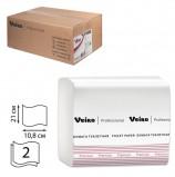 Бумага туалетная VEIRO (Система T3), КОМПЛЕКТ 30 шт., Premium, листовая, 250 листов, 21х10,8 см, 2-слойная, TV302