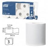 Бумага туалетная TORK (Система Т4), 3-слойная, спайка 8 шт. х 29,5 м, Premium, 110316
