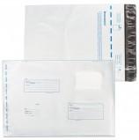Конверт-пакеты В4 полиэтиленовые (250х353 мм) до 300 листов, 'Куда-Кому', отрывная полоса, КОМПЛЕКТ 500 шт., 11004
