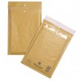 Конверт-пакеты с прослойкой из пузырчатой пленки (200х270 мм), крафт-бумага, отрывная полоса, КОМПЛЕКТ 100 шт., D/1-G