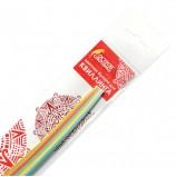 Бумага для квиллинга 'Пастель', 5 цветов, 100 полос, 3 мм х 300 мм, 80 г/м2, ОСТРОВ СОКРОВИЩ, 128743