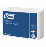 Салфетки TORK (Система N2) Fastfold, комплект 36 шт., 25х30 см, 300 шт., белые, 10933