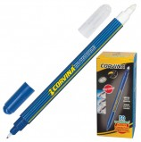 Ручка стираемая капиллярная CORVINA (Италия) 'No Problem', СИНЯЯ, линия письма 0,5 мм, 41425