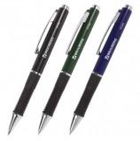 Ручка шариковая автоматическая с грипом BRAUBERG 'Style', СИНЯЯ, корпус ассорти, узел 0,7 мм, линия письма 0,35 мм, 140587