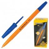 Ручка шариковая CORVINA (Италия) '51 Vintage', СИНЯЯ, корпус оранжевый, узел 1 мм, линия письма 0,7 мм, 40163/02