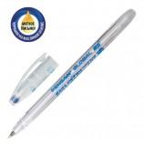 Ручка шариковая масляная PENSAN 'Global-21', СИНЯЯ, корпус прозрачный, узел 0,5 мм, линия письма 0,3 мм, 2221