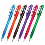Ручка шариковая автоматическая BRAUBERG 'Chance', СИНЯЯ, корпус тонированный ассорти, узел 0,7 мм, линия письма 0,35 мм, BPR125