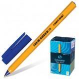 Ручка шариковая SCHNEIDER (Германия) 'Tops 505 F', СИНЯЯ, корпус желтый, узел 0,8 мм, линия письма 0,4 мм, 150503