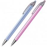 Ручка шариковая автоматическая BRAUBERG 'Sakura', корпус ассорти, узел 0,5 мм, линия письма 0,35 мм, BPR130