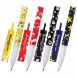 Ручка шариковая на шнурке BRAUBERG 'Funny Motions', СИНЯЯ, корпус ассорти, узел 0,7 мм, линия письма 0,35 мм, BP209