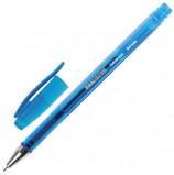 Ручка гелевая BRAUBERG 'Income', СИНЯЯ, корпус тонированный, игольчатый узел 0,5 мм, линия письма 0,35 мм, GP160