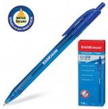 Ручка шариковая масляная автоматическая ERICH KRAUSE 'Ultra Glide U-28', СИНЯЯ, узел 1 мм, линия письма 0,5 мм, 33528