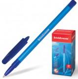 Ручка шариковая ERICH KRAUSE 'R-101', СИНЯЯ, корпус тонированный синий, узел 1 мм, линия письма 0,5 мм, 33511