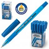 Ручка шариковая масляная с грипом PENSAN 'My-Club', СИНЯЯ, игольчатый узел 0,7 мм, линия письма 0,35 мм, 2232