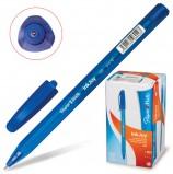 Ручка шариковая PAPER MATE 'Inkjoy 100', СИНЯЯ, корпус тонированный синий, узел 0,7 мм, линия письма 0,5 мм, S0960900
