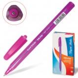 Ручка шариковая PAPER MATE 'Inkjoy 100', РОЗОВАЯ, корпус тонированный розовый, узел 1,2 мм, линия письма 1 мм, S0977320