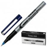 Ручка-роллер LACO (ЛАКО, Германия), СИНЯЯ, корпус серый, узел 0,7 мм, линия письма 0,5 мм, RB 12