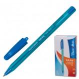 Ручка шариковая PAPER MATE 'Inkjoy 100', ГОЛУБАЯ, корпус тонированный голубой, узел 1,2 мм, линия письма 1 мм, S0977340