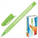 Ручка шариковая PAPER MATE 'Inkjoy 100', ЗЕЛЕНАЯ, корпус тонированный зеленый, узел 1,2 мм, линия письма 1 мм, S0977350