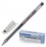 Ручка гелевая СОЮЗ 'Oskar', ЧЕРНАЯ, корпус прозрачный, узел 0,7 мм, линия письма 0,4 мм, РГ 155-02