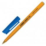 Ручка шариковая STAEDTLER (Германия) 'Stick', Синяя, корпус желтый, узел 0,8 мм, линия письма 0,25 мм, 430 F-3