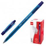 Ручка шариковая масляная CELLO 'Slimo', СИНЯЯ, корпус тонированный синий, узел 1 мм, линия письма 0,8 мм, 305089020