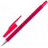 Ручка шариковая STAFF, КРАСНАЯ, корпус прорезиненный красный, узел 0,7 мм, линия письма 0,35 мм, BP192