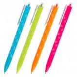 Ручка шариковая масляная автоматическая BRAUBERG 'FRUITY RS', СИНЯЯ, узел 0,7 мм, линия письма 0,35 мм, OBPR124