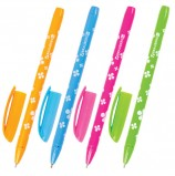 Ручка шариковая масляная BRAUBERG 'FRUITY SF', СИНЯЯ, с узором, узел 1 мм, линия письма 0,5 мм, OBP125