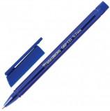 Ручка шариковая масляная BRAUBERG 'Marine', СИНЯЯ, корпус тонированный синий, узел 0,7 мм, линия письма 0,35 мм, OBP133